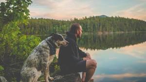 toby dog pond